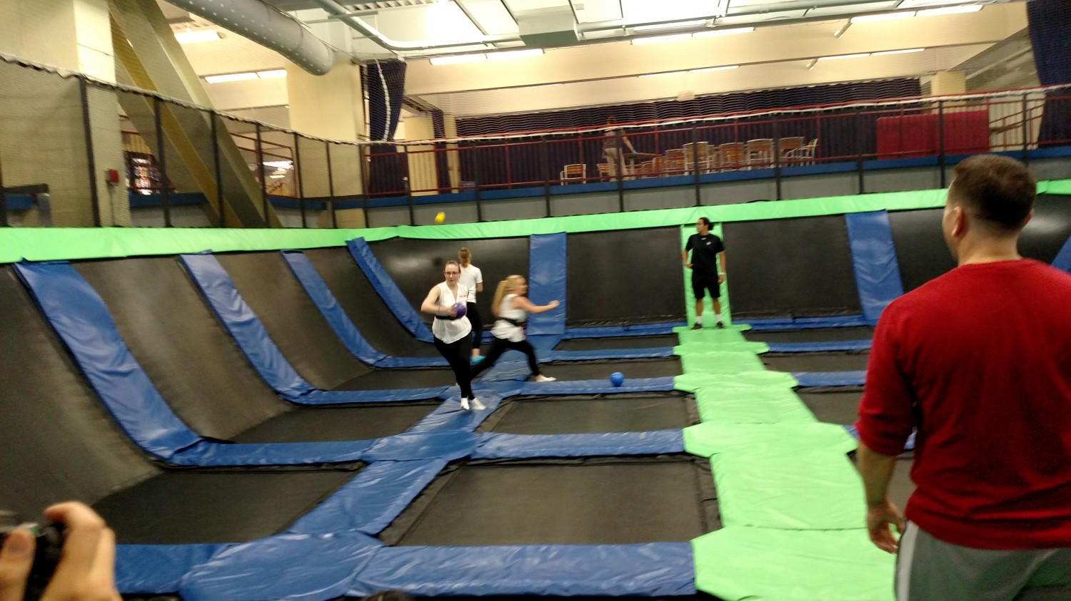 MVC's favorite event - Trampoline Dodgeball - AFC Veterinary Challenge 2015 – Manchester Vet Clinic - CT